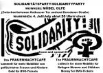Flyer Soliparty des FrauenNachtCafés bei Möbel Olfe