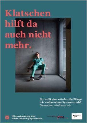 Wenn, dann jetzt: Pflegerebellion! @ Platz der Republik, vor dem Reichstagsgebäude